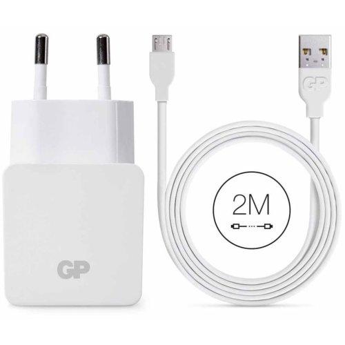 GP USB Wall Charger WA23 with Micro USB Cable 2 m 150GPWA23CB22C1