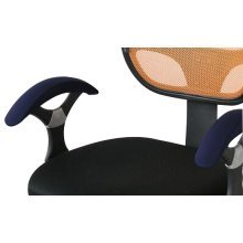 Armrest Pads Comfy Office Chair Armrest Cover for Elbows [Navy Blue]