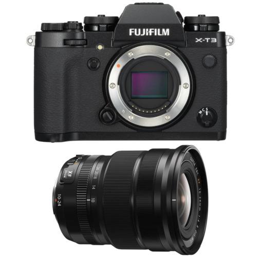 FUJI X-T3 Black + XF 10-24MM F4 R OIS Black