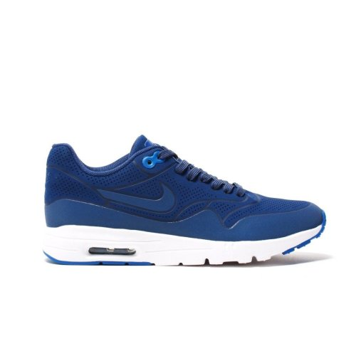 ef6a749e6cf New Womens Nike Air Max 1 Ultra Moire Trainers Blue 704995 403