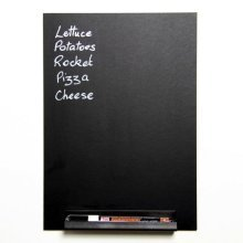 A4 Memo Chalkboard with Shelf