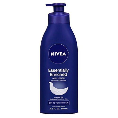 NIVEA Essentially Enriched Body Lotion 169 oz (Pack of 2)