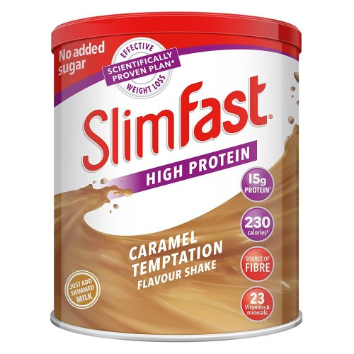 Slim Fast Caramel Meal Replacement Shake Mix Diet Weight Loss Drink