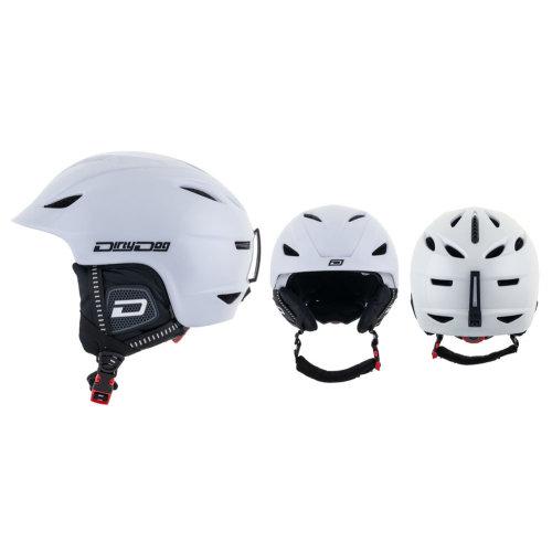 Dirty Dog Eclipse Snow Helmet - Shiny White
