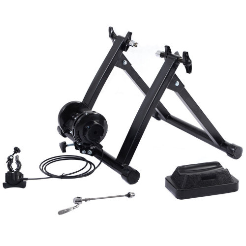 Folding Indoor Bike Magnetic Turbo Bicycle Resistance Trainer