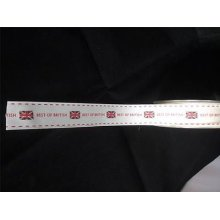 "2m of Berisfords ""Best of British"" Ribbon -25mm wide"