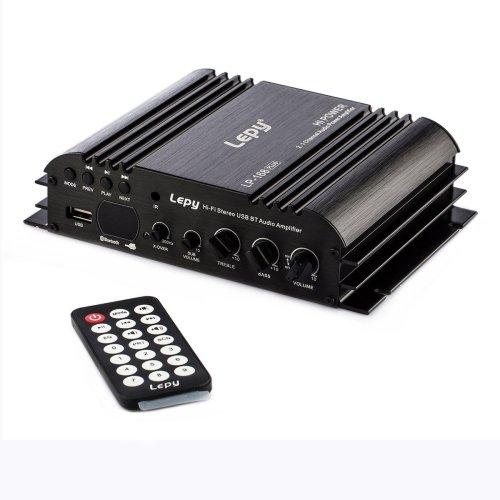 Nobsound Lepy 168Plus Mini 2.1 Channel 80W+68W Hi-Fi Stereo USB/SD/Bluetooth/AUX/RCA Audio Digital Power Amplifier Subwoofer Amp Bass Car Vehicle...