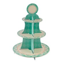 Tiffany Cake Stand 3 Tiers Round