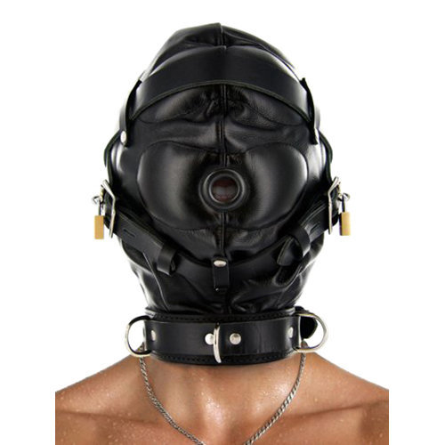 Strict Leather Sensory Deprivation Hood M/L BDSM Masks - Strict Leather