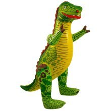 Henbrandt Inflatable Dinosaur - 76cm Party Fancy Dress Blow Up Kids Toy -  inflatable dinosaur 76cm party fancy dress blow up kids toy
