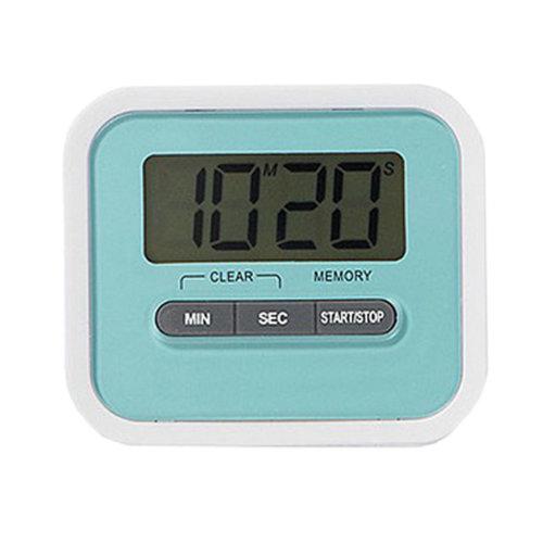 Utility Mini Electronic Digital Timer Kitchen Timer, Blue