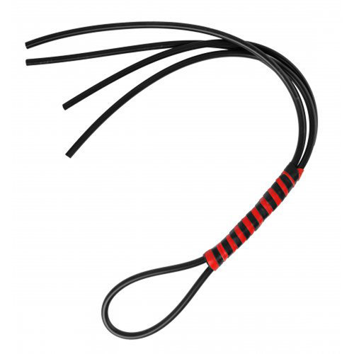 Heavy Duty Silicone Flogger  BDSM Whips and Ball Gags - Strict Leather