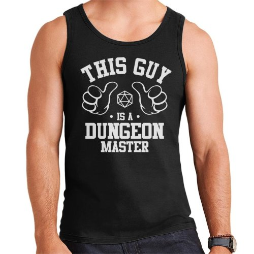 This Guy Is A Dungeon Master Men's Vest