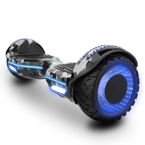 Right Choice Hoverboard With RGB LED On Wheels - LED Decorative Tent - Bluetooth Speakers - segway Model E9