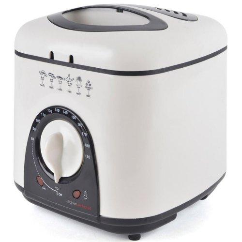 Lloytron E6010WI KitchenPerfected 1.0Ltr 950W Compact Deep Fryer - White