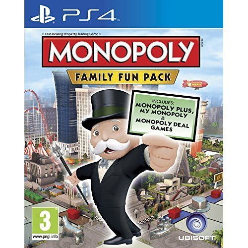 Monopoly Family Fun Pack (PS4)
