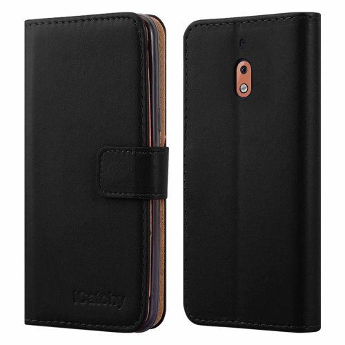 For Nokia 2.1 Leather Wallet Flip Case Cover