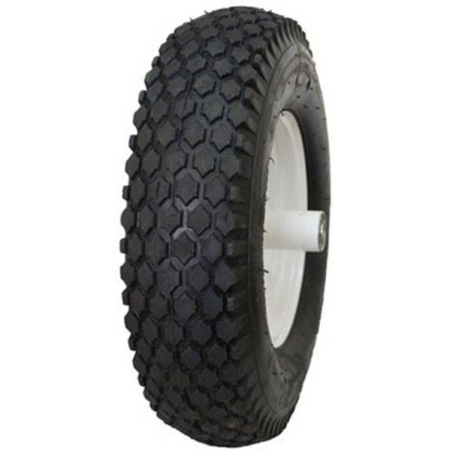 Hi-Run CT1010 4.10 x 3.50-4 in. Stud Wheelbarrow Tire