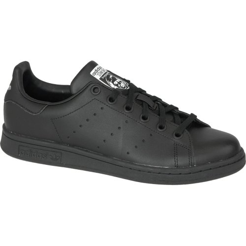 Adidas Stan Smith J M20604 Kids Black sports shoes