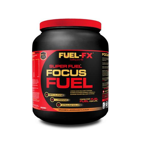 Focus Fuel Orange & Lemonade Flavour 500g