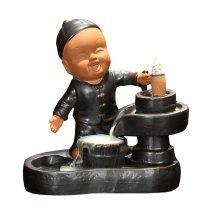 Ceramic Backflow Incense Burner Censer Home Decor