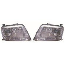 Suzuki Grand Vitara 2005-2015 Headlights Headlamps 1 Pair O/s & N/s