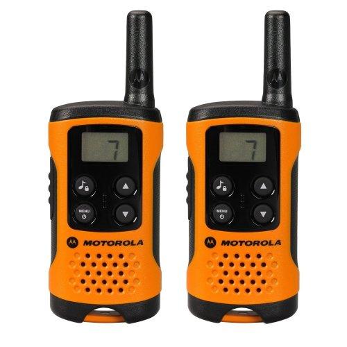 Motorola T41 Walkie Talkie - Orange (Pack of 2)