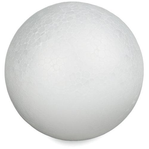 """Smooth Styrofoam Balls 3"""" 6/Pkg-"""