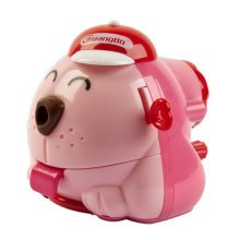 Cute Dog Manual Pencil Sharpener for Office and Classroom ( Pink )