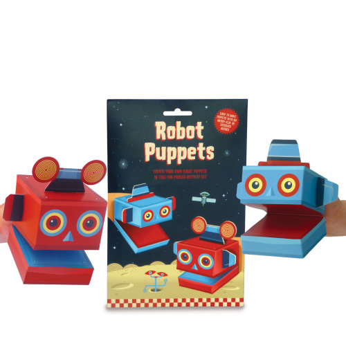 Build Your Own - Robot Puppets
