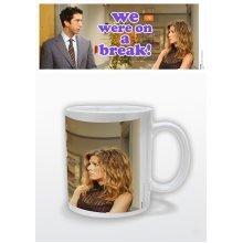 Friends We Were On A Break Ceramic Mug - 1piece Where -  friends mug we break were 1piece ceramic where