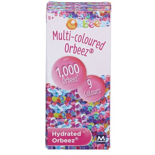 New Orbeez Multi Coloured 1000 Piece Refill Pack