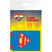 Superman Cape Travel Pass Card Holder