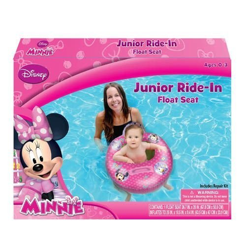Minnie Mouse Bowtique Baby Toddler Ride on Float Seat Swim Raft Ring Pool Beach by UPD