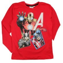 Avengers T Shirt - Red