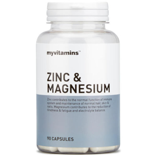 Myvitamins Zinc and Magnesium Tablets