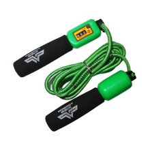 Jump Rope for Fitness Training,Athletic Speed Rope 3M Count Rope Skipping Green