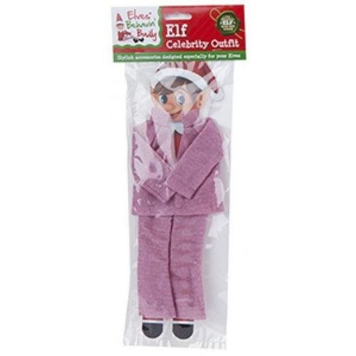 Elves Behavin Badly - Elf Glitter Celebrity Outfit - Pink