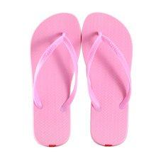 Unisex Casual Flip-flops Beach Slippers Anti-Slip House Slipper Sandals Pink
