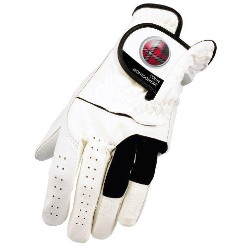 Colin Montgomerie Men's Pro Feel Glove - White, Large
