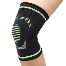 Professional Sports Kneepad Running Anti-wear Breathable Riding Knee Brace,Green