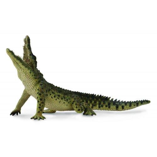Collecta–col88725–Wild Crocodile Nile Movable Jaw XL