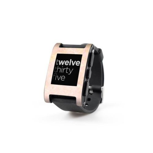 DecalGirl PWCH-ROSE-MARBLE Pebble Watch Skin - Rose Gold Marble