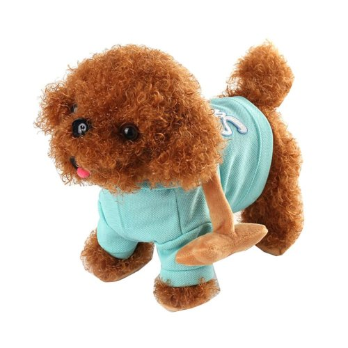 Plush Dog Electric Leash Dog Walking Puppy Toy
