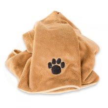 Professional Microfibre pet / dog Blanket - super absorbent & XLarge 90x120cm