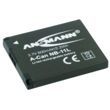 Ansmann A-Can NB-11L Lithium-Ion 600mAh 3.7V rechargeable battery