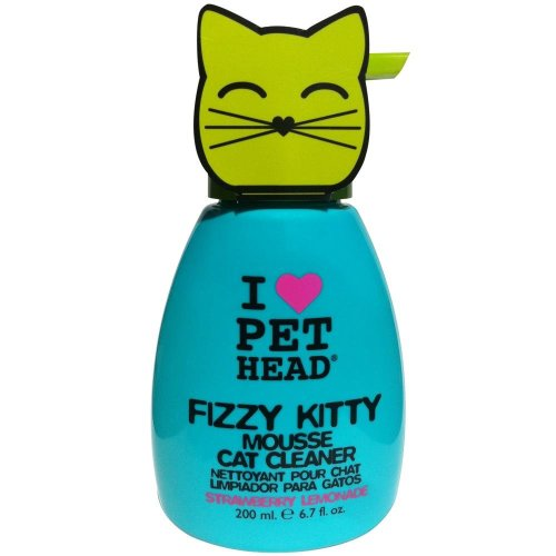 Pet Head Fizzy Kitty Mousse Cat Cleaner (190ml)