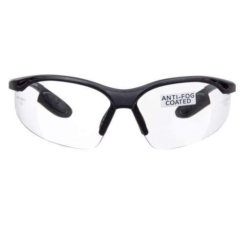 voltX 'Constructor' SAFETY READERS (Clear +2.0 Dioptre) Full Lens Reading Safety Glasses CE EN166f certified - Wraparound Style - Includes Safety...