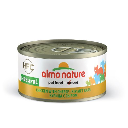 Almo Nature Hfc Natural Cat Adult Chicken & Cheese 70g (Pack of 24)