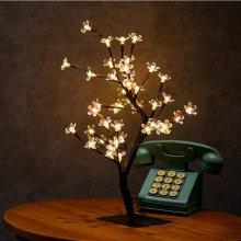 Cherry Blossom Desk Top Bonsai Tree Light